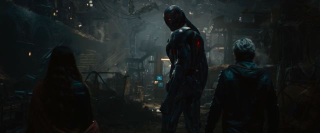 Avengers Age Of Ultron Trailer Released - Ultron with Scarlett Witch and Quicksilver