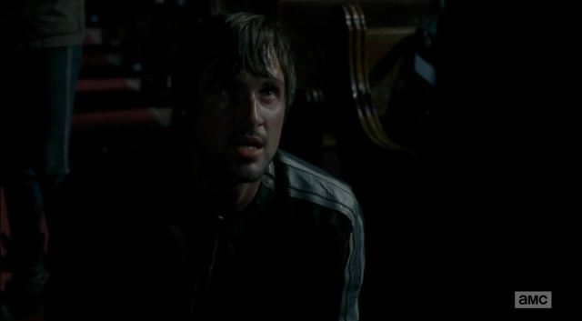 Gareth pleading for his life to Rick - The Walking Dead S5Ep3 Four Walls and a Roof Review