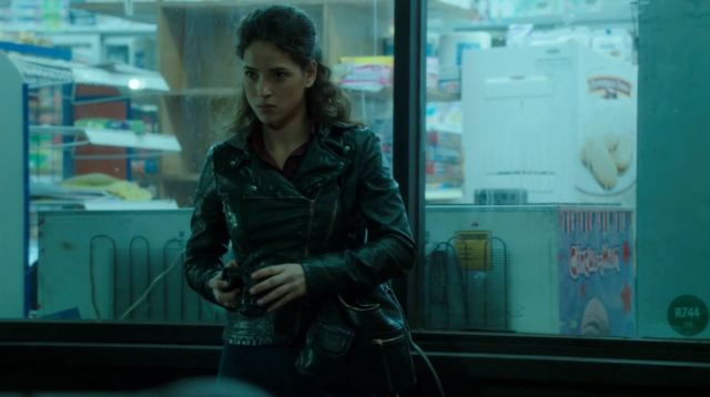 Adria Arjona as Person of Interest. Person of Interest Point of Origin Review