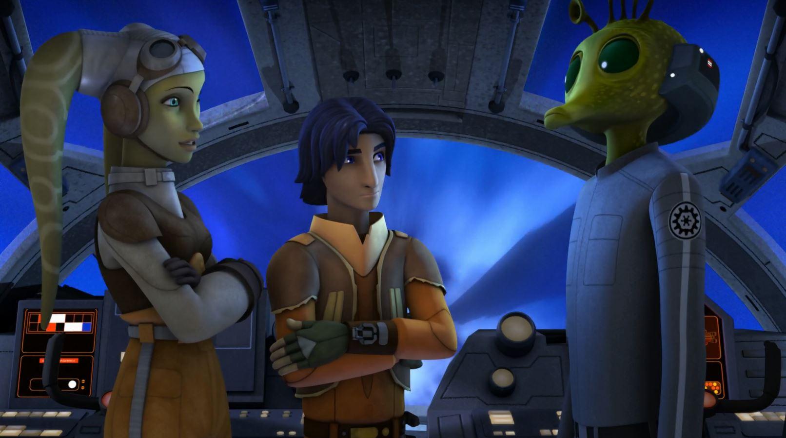 Hera, Ezra and Tseebo. Star Wars Rebels Gathering Forces Review