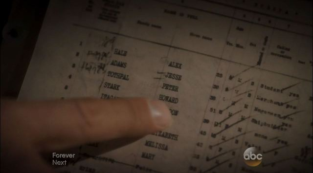Agent Carter Review. Howard Stark name on list