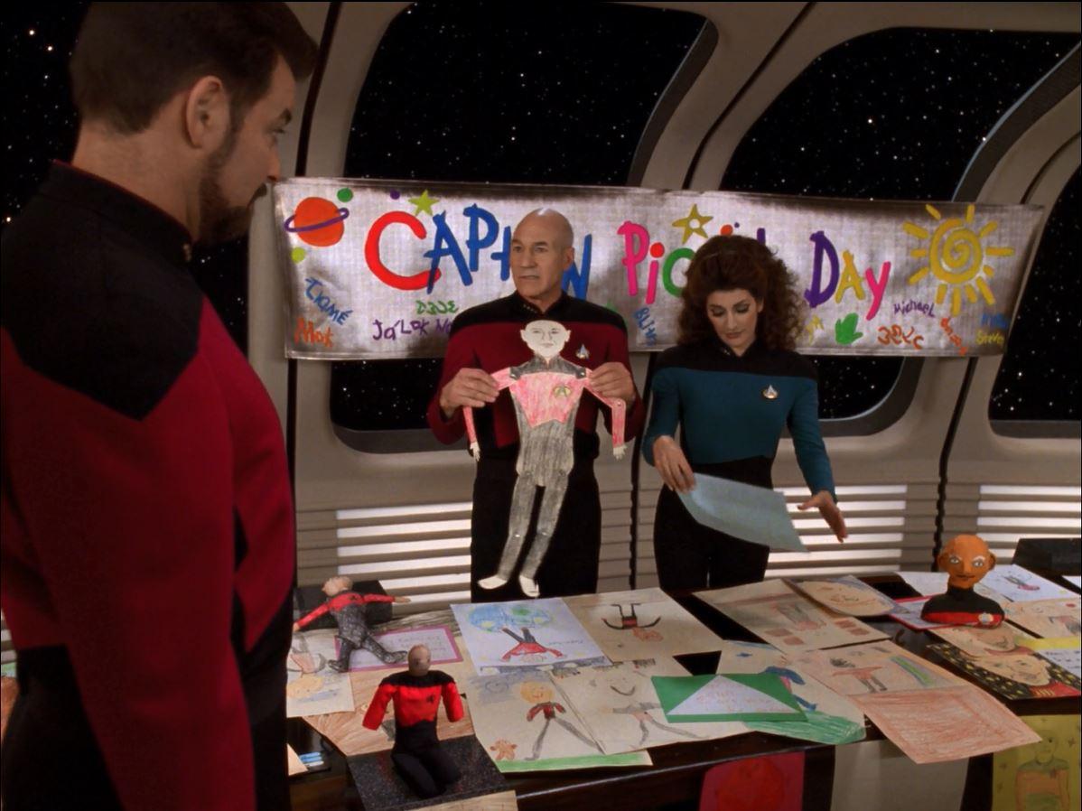 Star Trek TNG Season 7 Blu-ray Review. Captain Picard day in Pegasus