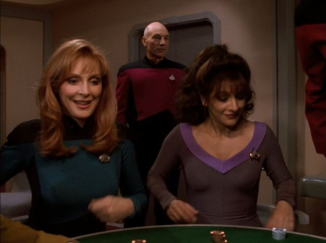 Star Trek TNG Season 7 Blu-ray Review. Picard finally joins the poker game