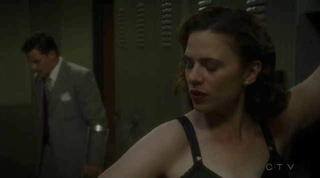 Agent Carter The Iron Ceiling Review. Sousa has a run in with a naked Peggy