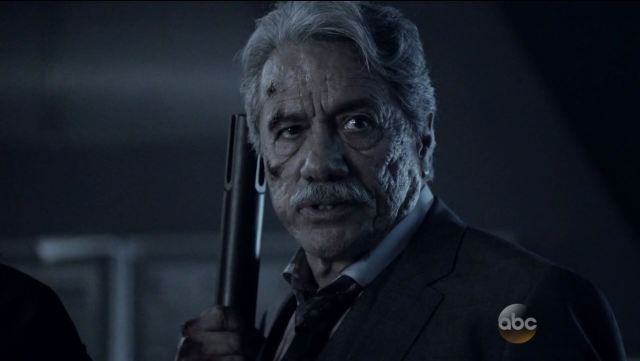 Edward James Olmos as Robert Gonzales. Agents of SHIELD S2Ep15 'One Door Closes' Review