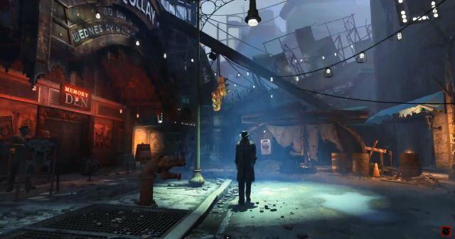 Fallout 4  - cyberpunk trailer city