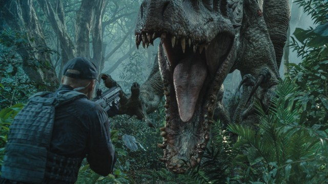 Indominus Rex attacks - Jurassic World