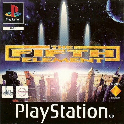 The Fifth Element game - PlayStation Cover