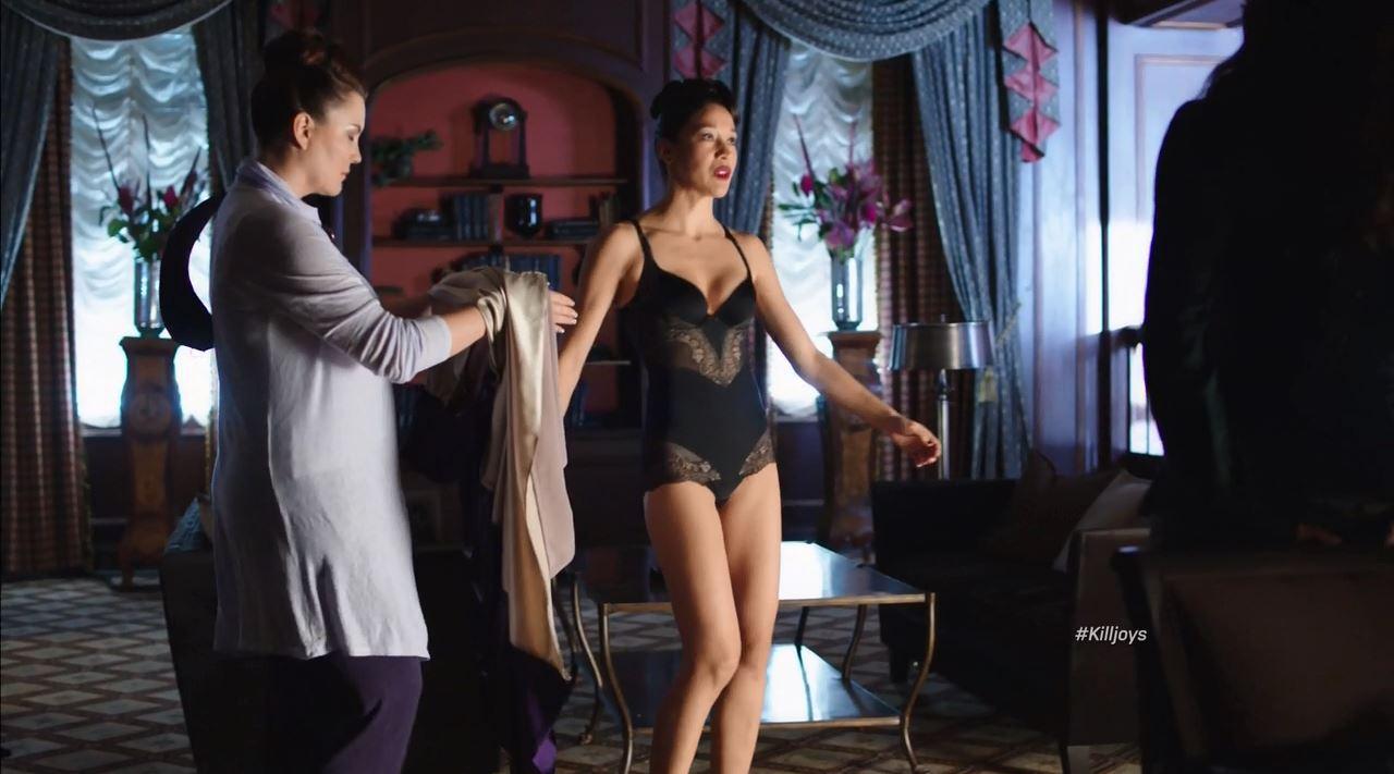 mayko nguyen sexy lingerie killjoys finale review scifiempirenet