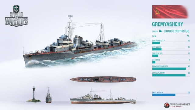 gremyashchy destroyer premium ship. World Of Warships Review
