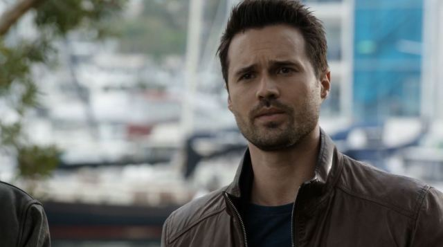 Brett Dalton as Grant Ward. Agents of SHIELD S3Ep2 Purpose in the Machine Review