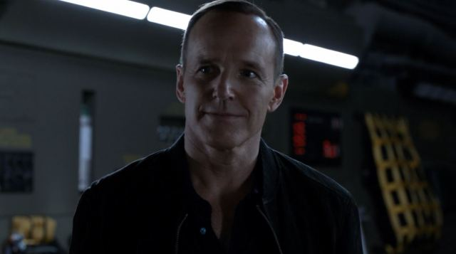 Clark Gregg as agent Coulson. Agents of SHIELD S3Ep2 Purpose in the Machine Review