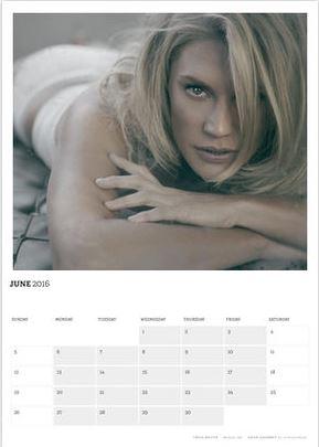 Acting Outlaws 2016 Calendar. Katee Sackhoff hot in June 2016