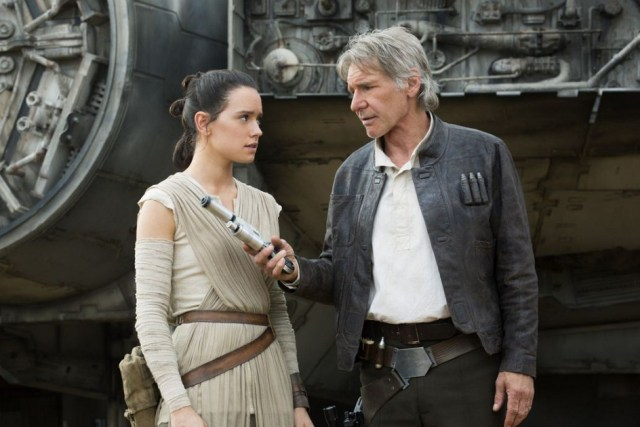 Rey and Han Solo - The Force Awakens