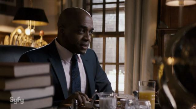 Rick Worthy as Henry Fogg in The Magicians.