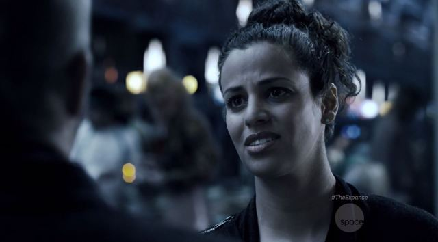 Athena Karkanis as Octavia Muss. The Expanse S1E07 Windmills Review.