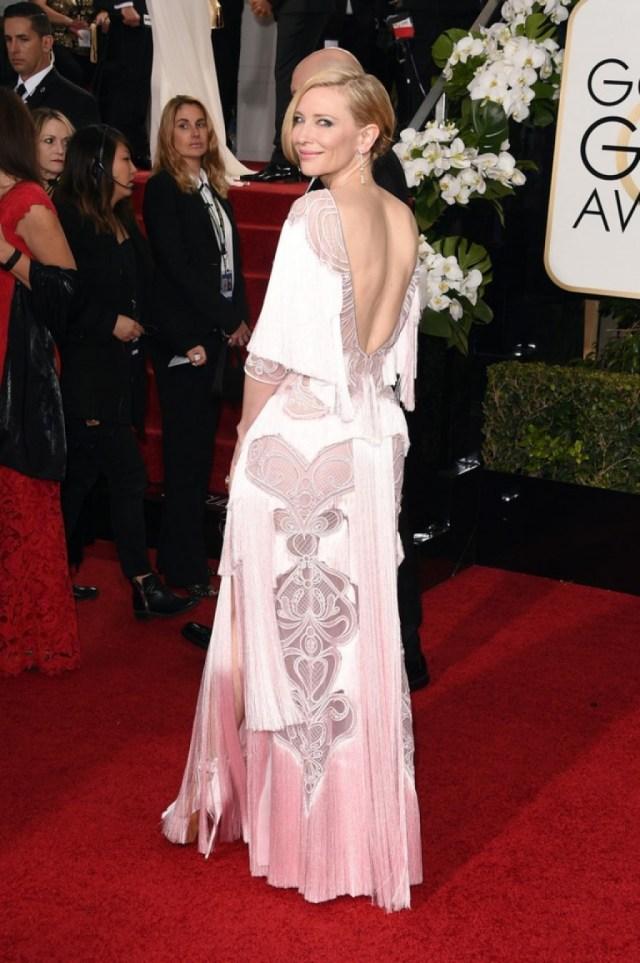 Cate Blanchett at Golden Globes Awards 2016