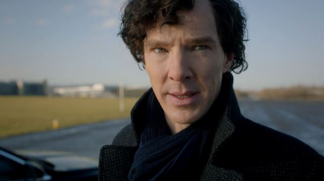 Present day Sherlock Holmes - Benedict Cumberbatch in The Abominable Bride