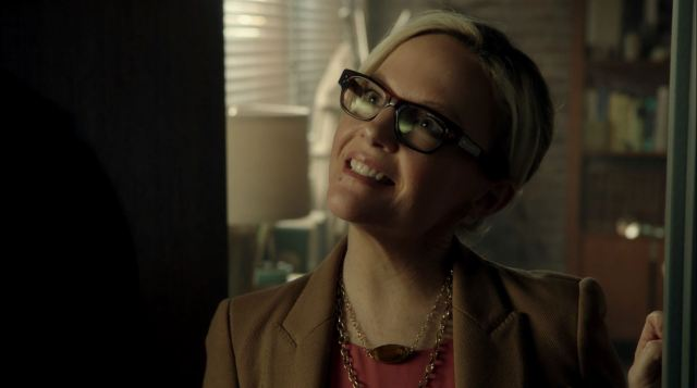 Rachael Harris as Linda Martin. Lucifer pilot.