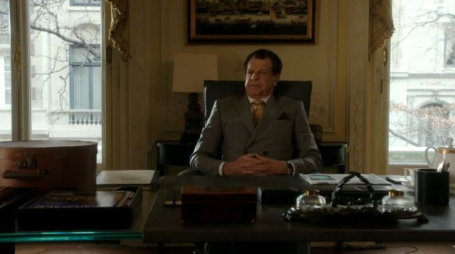 Morland Holmes. Elementary S4Ep14 Who Is That Masked Man Review