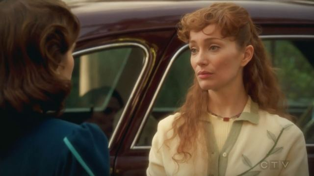 Lotte Verbeek as Ana Jarvis. Agent Carter S2Ep10 Hollywood Ending Review