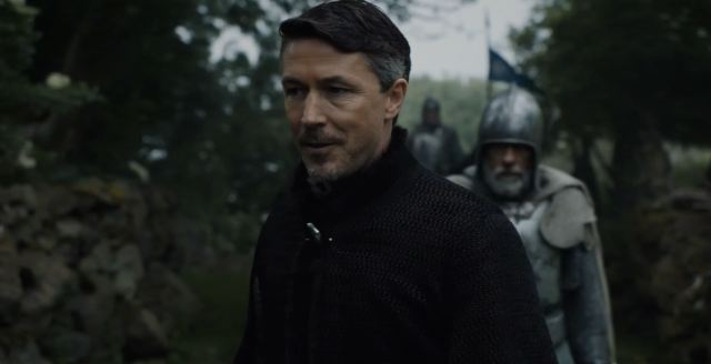 Littlefinger returns to the Vale. Game Of Thrones S6Ep4 Book of the Stranger Review