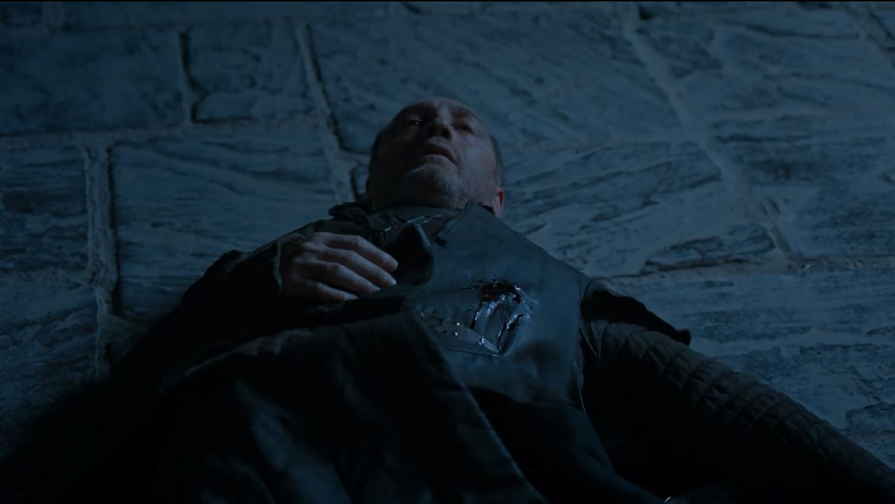 Roose Bolton killed. Game of Thrones S6Ep2 Home Review