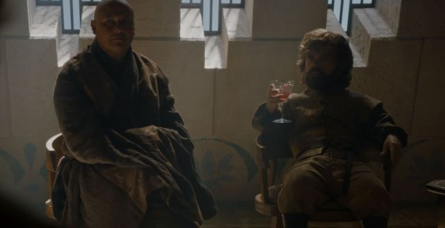 Tyrion confronts the masters. Game Of Thrones S6Ep4 Book of the Stranger Review