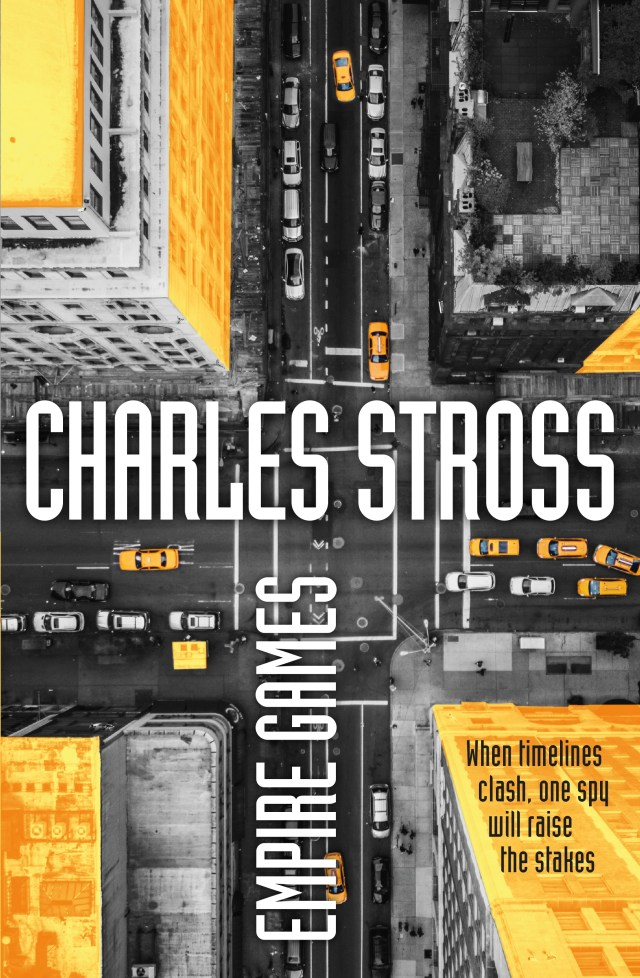 Empire Games review by Charles Stross