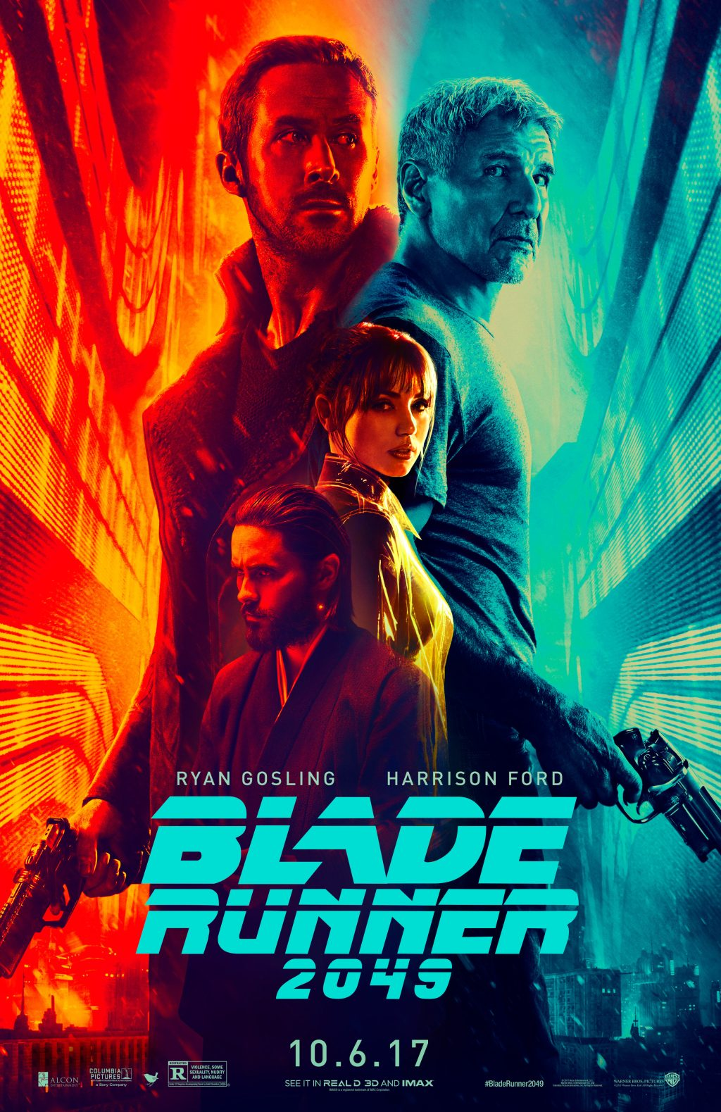 Ryan Gosling in Poster Blade Runner 2049