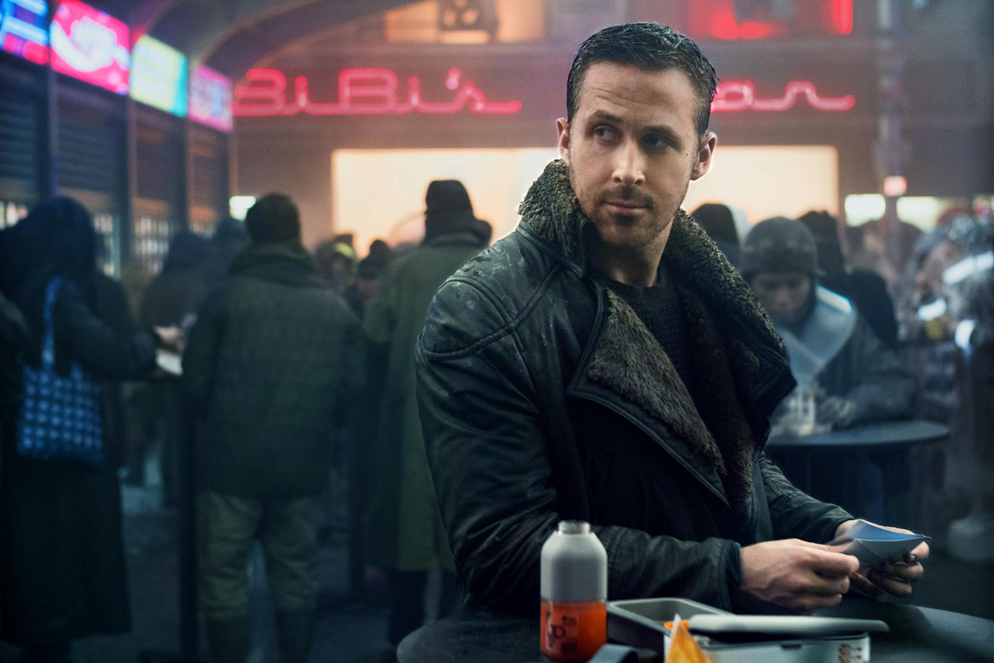 Ryan Gosling K in Blade Runner 2049