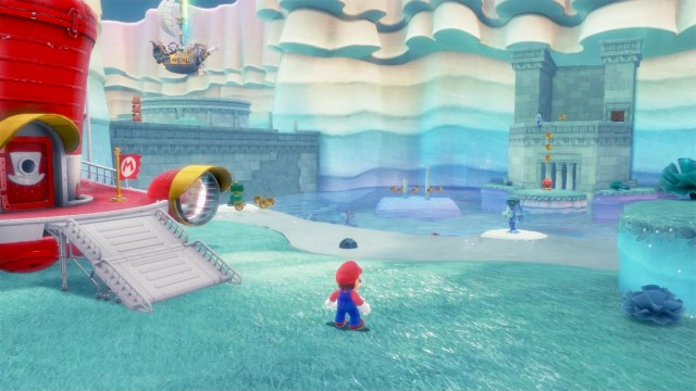 Super Mario Odyssey - Lake moons