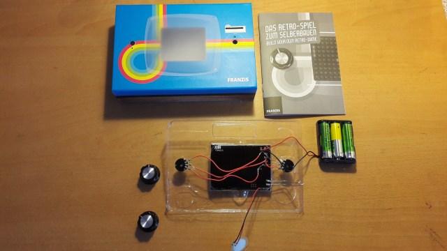 Retro Aracde Kit major components