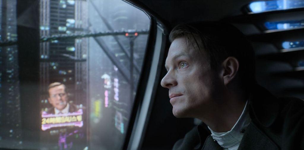 Altered Carbon - Joel Kinnaman as Takeshi Kovacs
