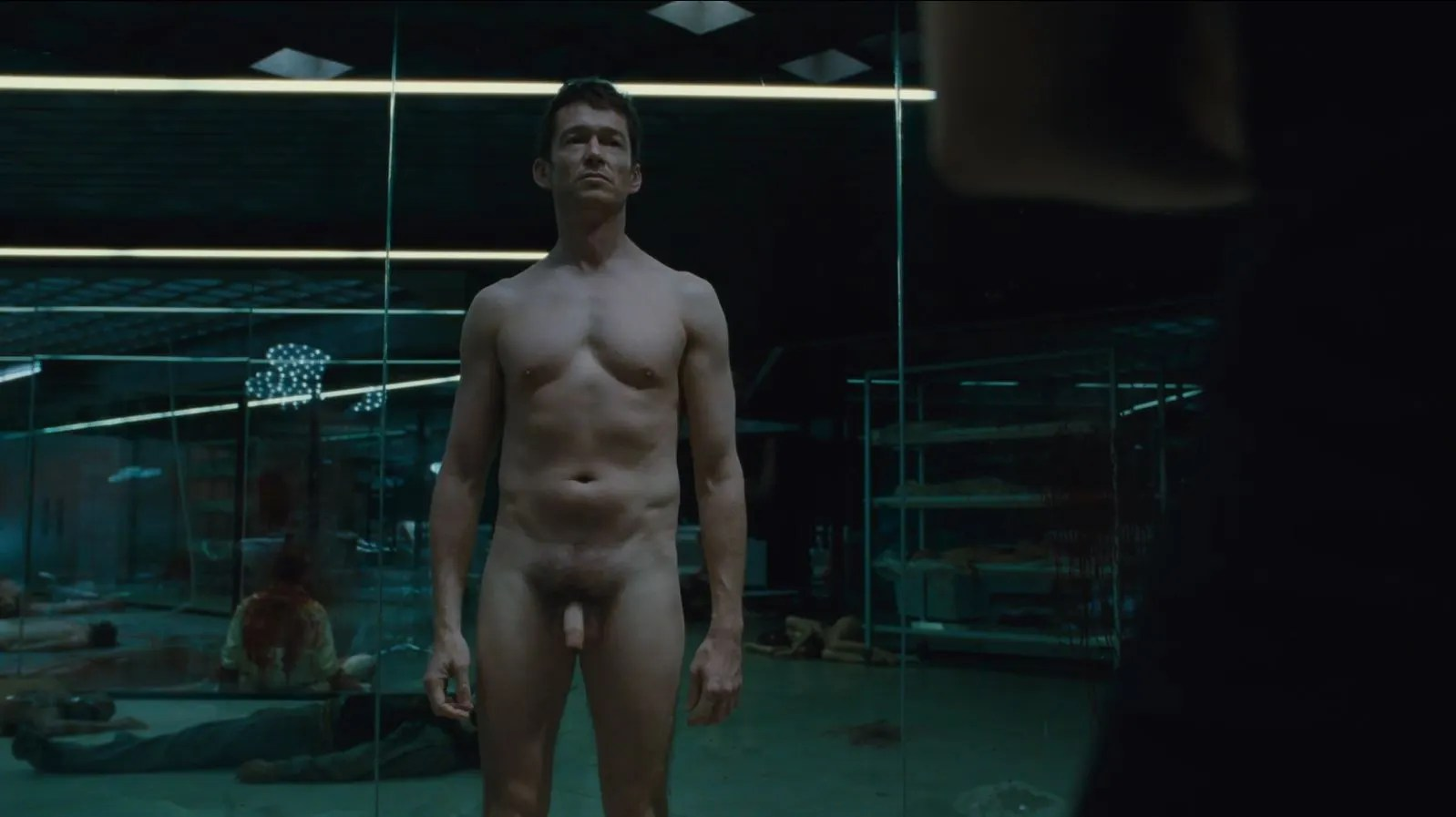 Westworld S02E01 Journey into Night Review - Simon Quarterman as Lee Sizemore full frontal nude