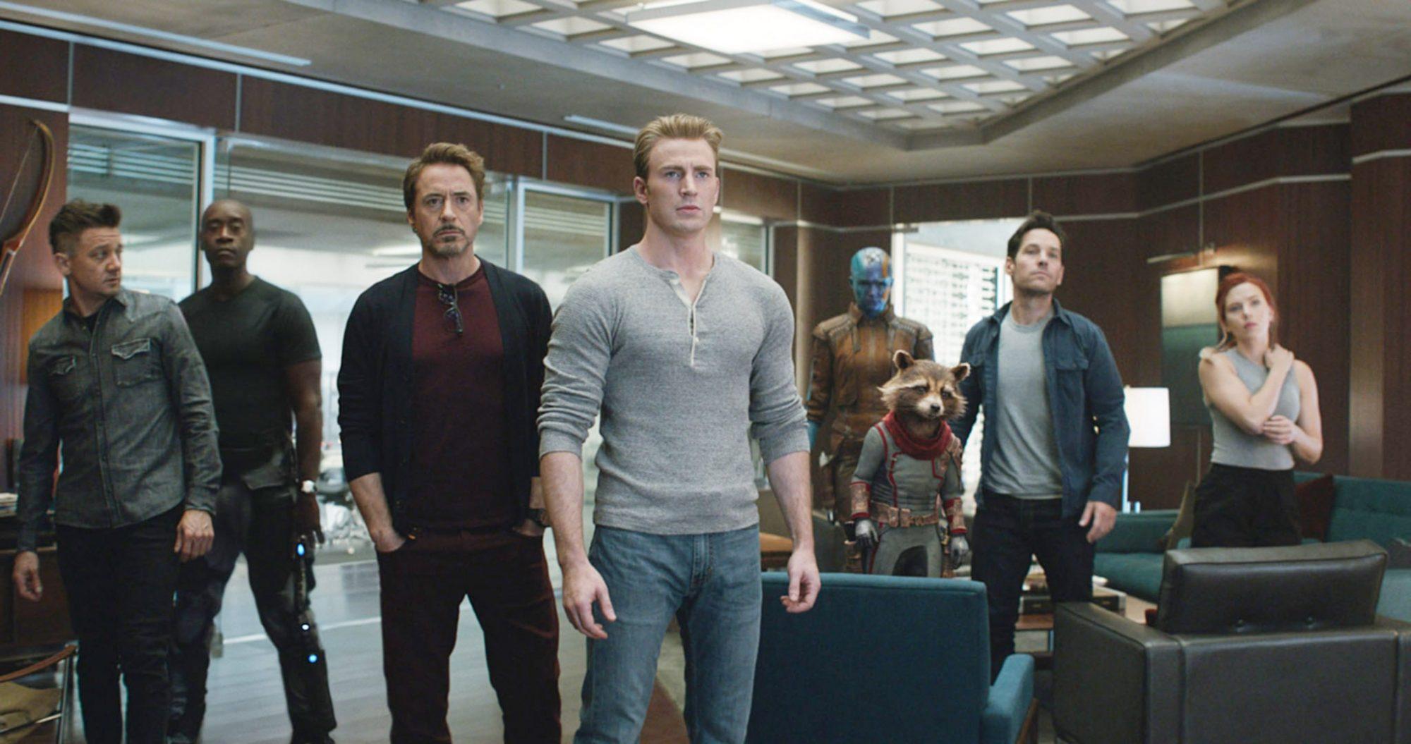 Avengers Endgame Review - The remaining Avengers