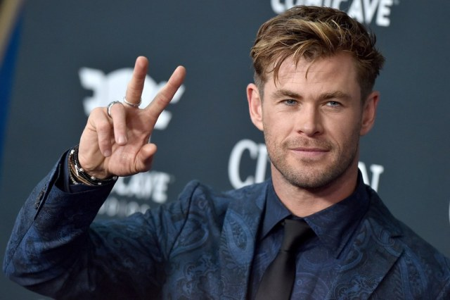 Chris Hemsworth at Avengers Endgame premiere