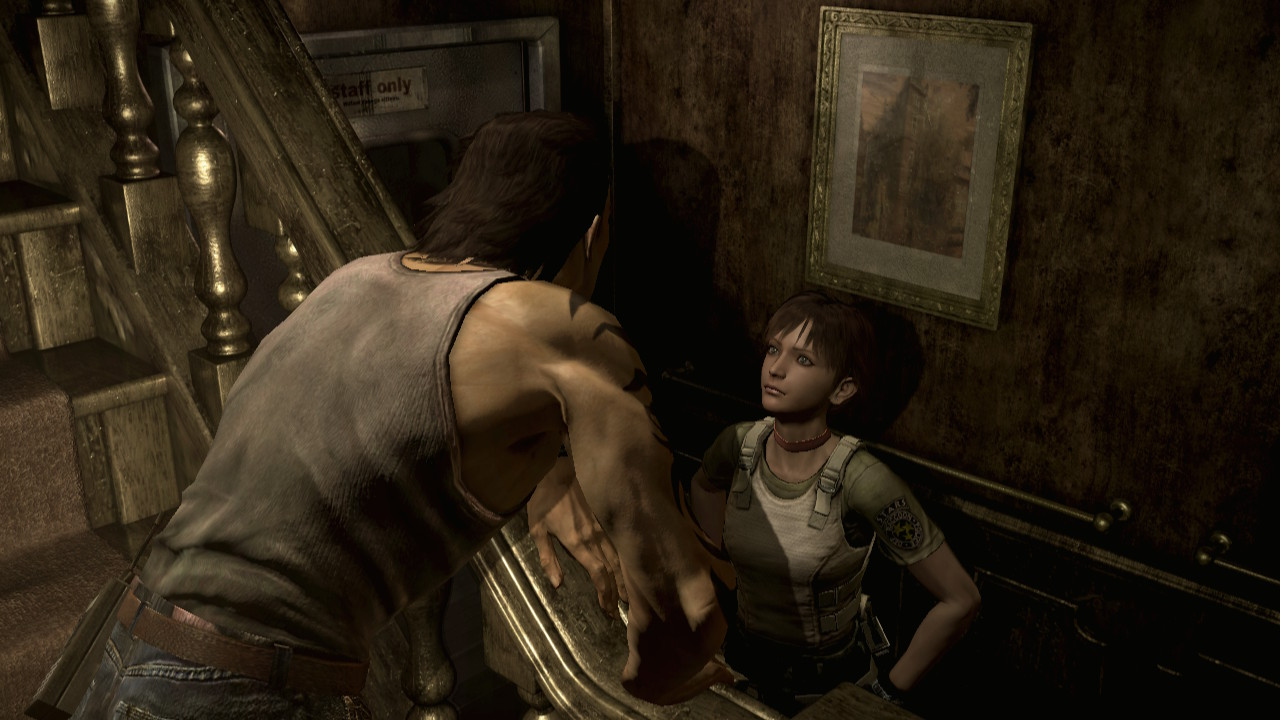 Resident Evil Zero - Billy talks to Rebecca