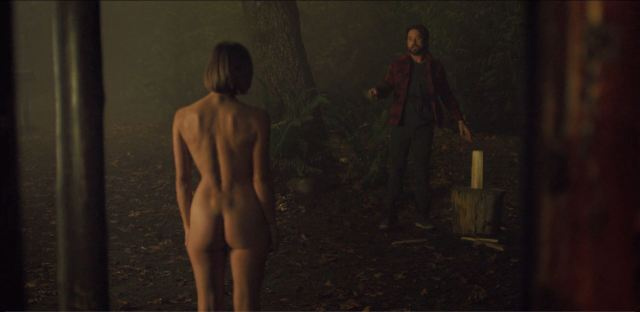 Another Life - Katee Sackhoff nude rear