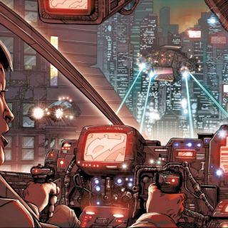Blade Runner 2019 #1 - Ash flying her Spinner