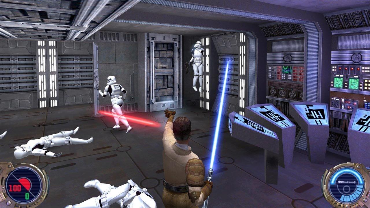 Star Wars Jedi Knight 2 Jedi Outcast use the force Kyle