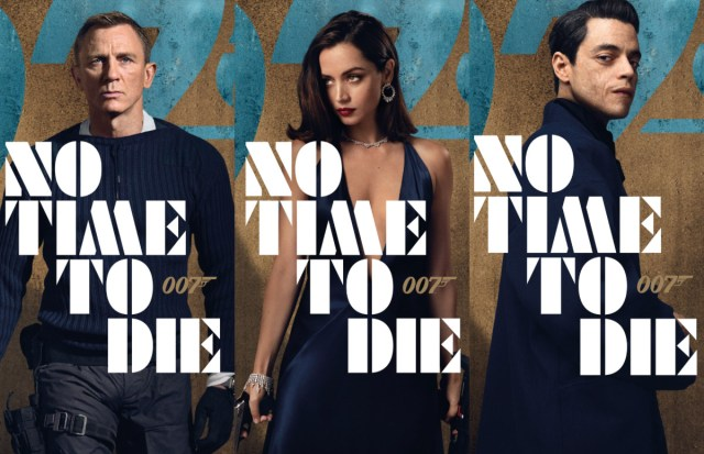 James Bond 25 - character posters