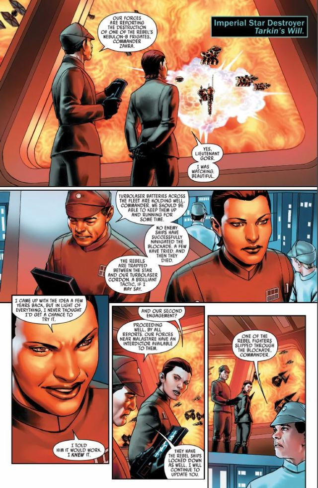 Star Wars (2020) #1 - Commander Zahra on Tarkin's Will