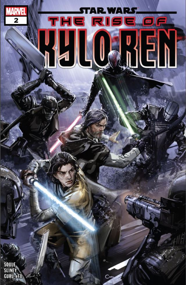Star Wars The Rise of Kylo Ren Issue 2 cover