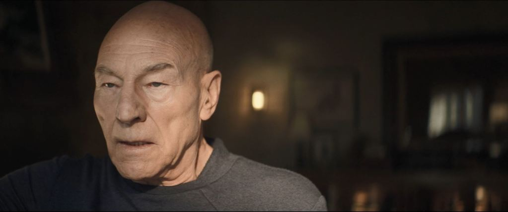 Star Trek Picard S01E06 Review - Picard thinking of the Borg