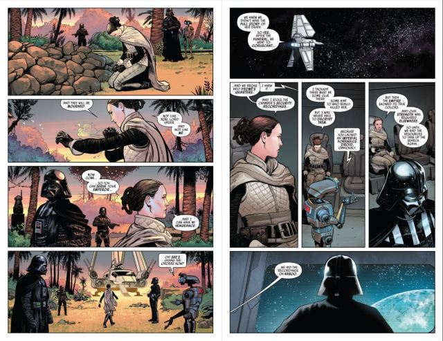 Review Issue 2 Star Wars Darth Vader (2020) - Vader and Sabe travel to Naboo