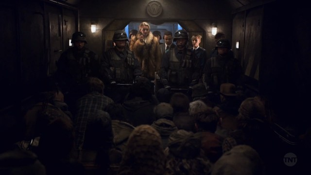 Snowpiercer series talking to the tailies