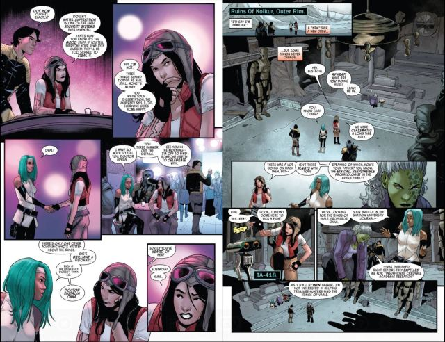 Star Wars Doctor Aphra (2020-) # 1 Eustacia and Detta