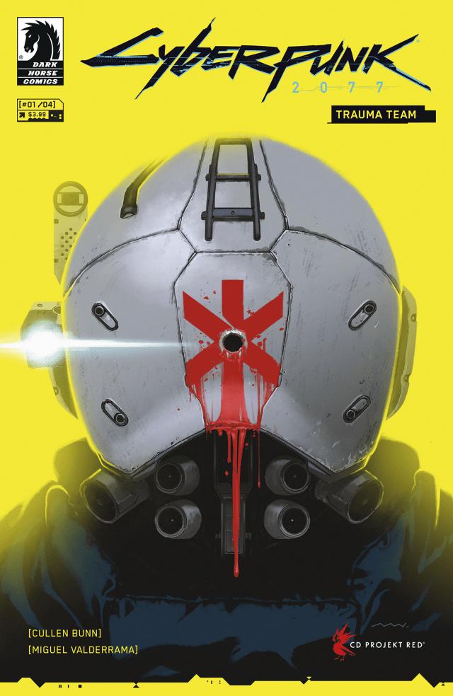 Cyberpunk 2077 Trauma Team issue 1 cover