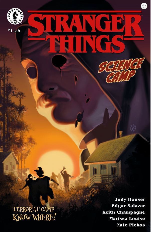 Stranger Things Science Camp issue 1 cover